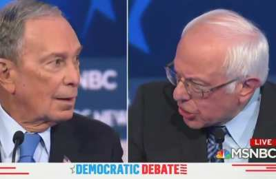 Bloomberg destroys Socialist Sanders for owning three houses