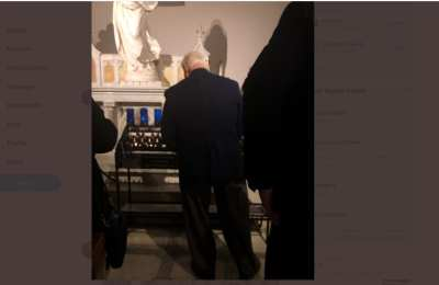 Roger Stone spotted attending Mass in D.C