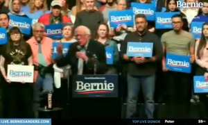 Bernie claims aliens are entitled to same government programs as citizens