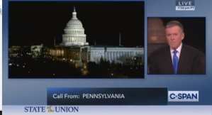 "C-SPAN CALLER: Pelosi SOTU rip ""sealed"" Trump's re-election victory"