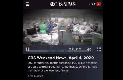 CBS again claims Italian hospital footage is from U.S