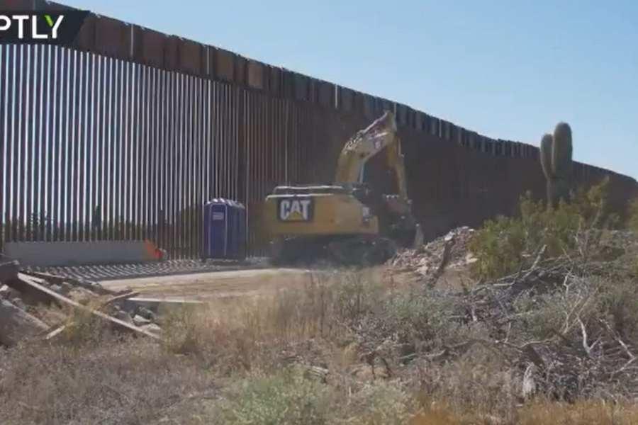 Chinavirus hasn't halted Border Wall construction