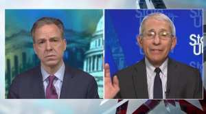 """Fauci: """"always the possibility"""" that voters can't go to polls in November"""