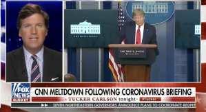 Tucker mocks CNN over Chinavirus chyron meltdown