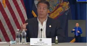 """Cuomo: People Are Fleeing Other States For """"Safe"""" New York"""