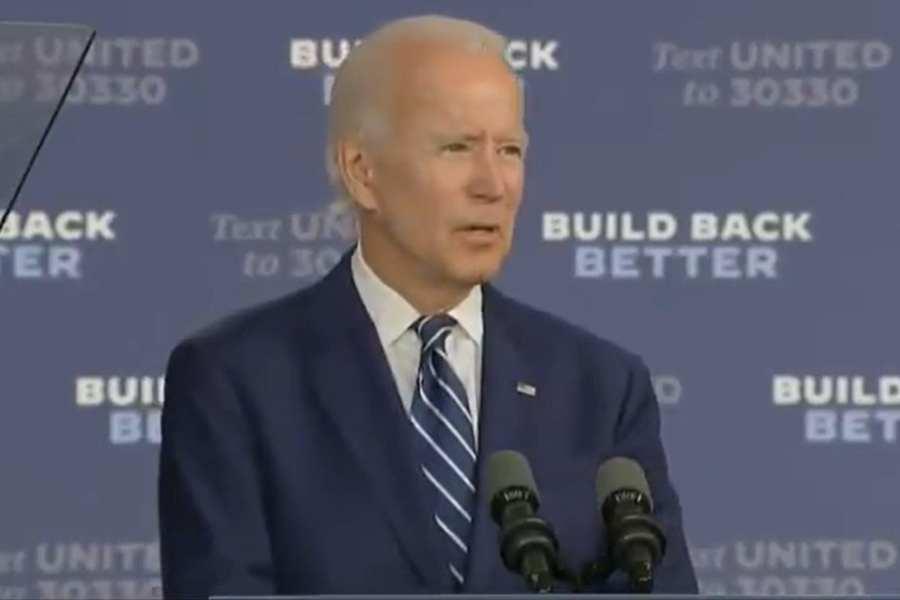Biden Announces He'll Repeal Trump's Tax Cut