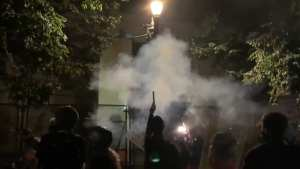 """Watch: Portland Rioters Shoot """"Roman Candle"""" Mortars At Law Enforcement"""