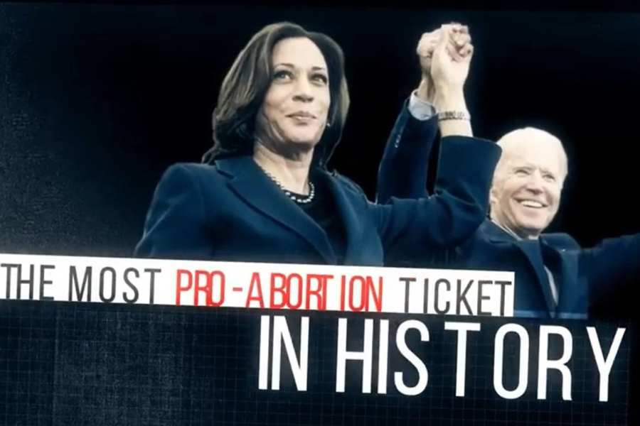 """Pro-Life Groups: Biden, Harris """"Most Pro-Abortion Presidential Ticket In American History"""""""