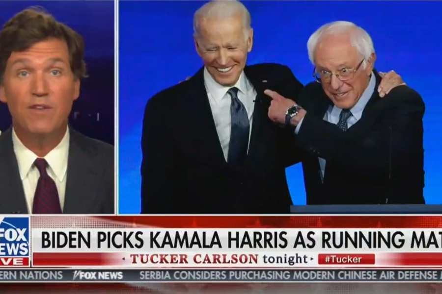 Tucker: Biden And Harris Are The Ticket Because They Can Be Controlled
