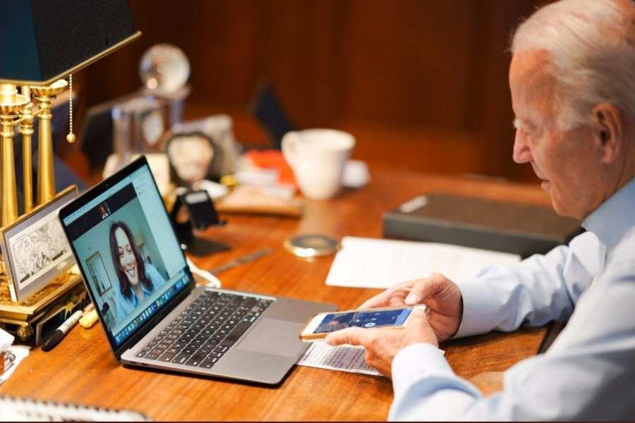 Biden Needed Script Reminding Him Why He Was Calling Kamala Harris
