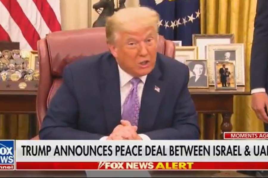Trump Announces Historic Peace Deal Between Israel, UAE