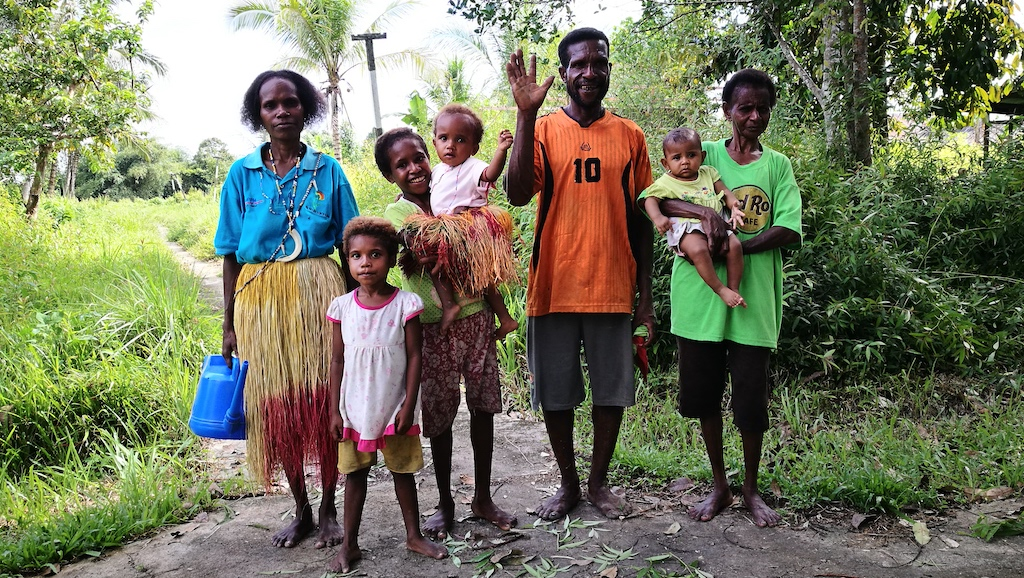 Samuel family West Papua