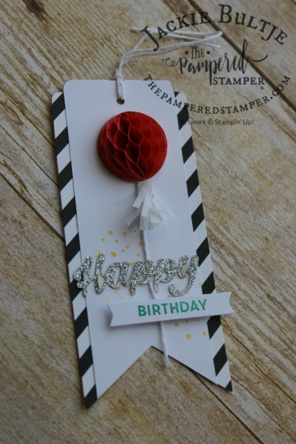 It's all in the details, and this cute tag from the Birthday Bright Project Kit has lots of adorable details.