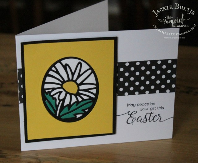 This framelit from That's the Tag make paper piecing easy for a stunning effect.