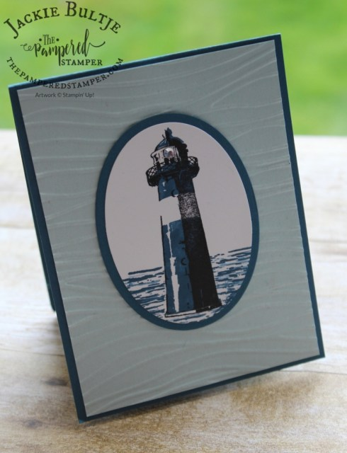 High Tide and stitched framelits combine for a winning card.