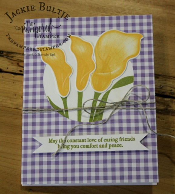 Highland Heather and Daffodil Delight Lasting Lily.