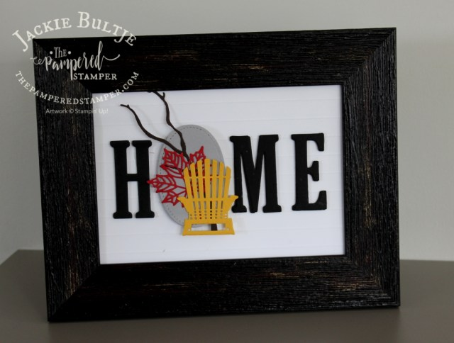 Canada Day home decor frame insert