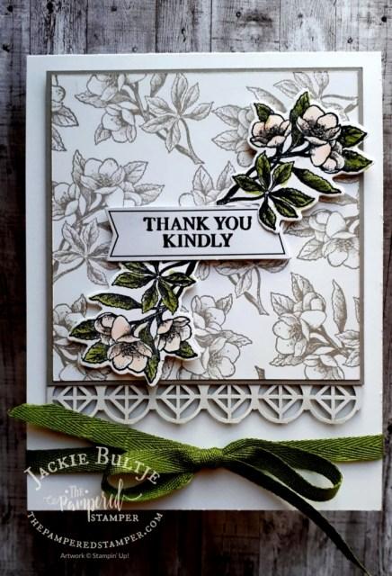 Soft Floral Botanical Prints card