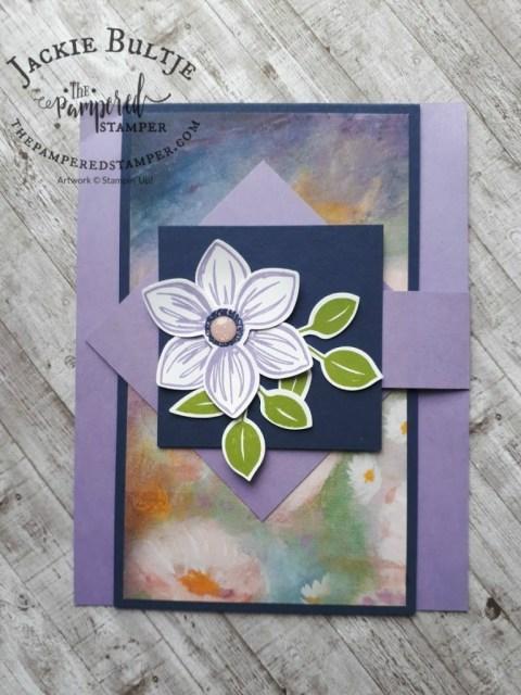 Fun Fold Flap card by Faye Molsberry