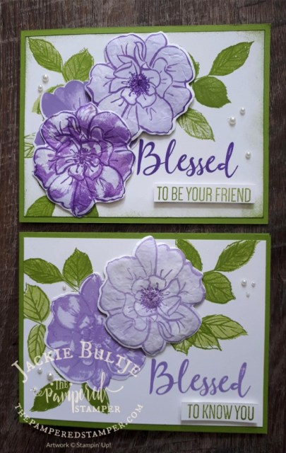 Dry Embossing cards