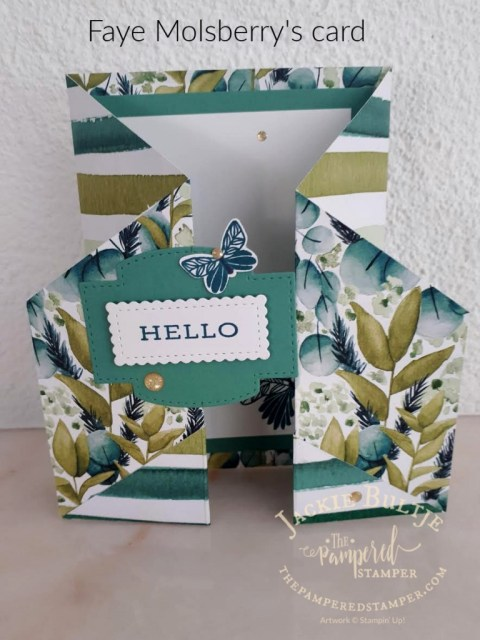 Fancy Fold card