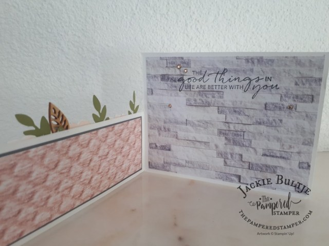 Karen's Dutch Door card open