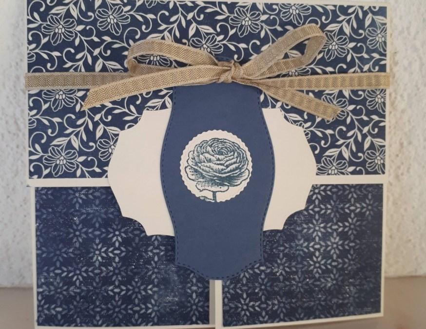Boho Indigo and Ornate Layers