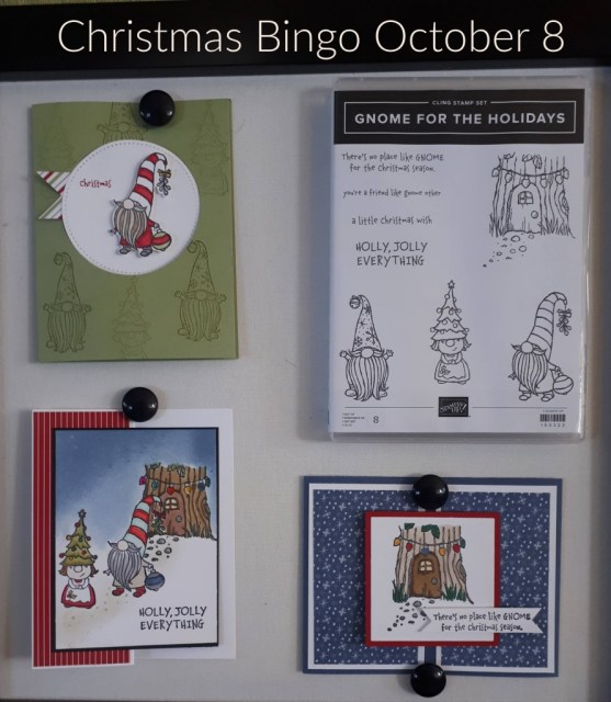 Gnome for the Holidays Christmas Bingo