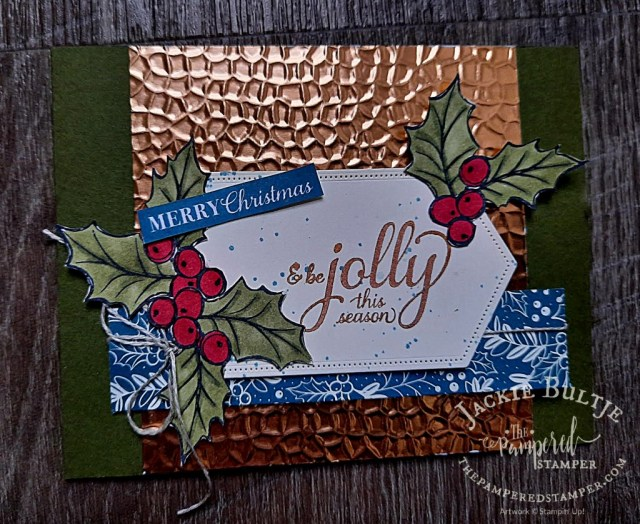 Brightly Gleaming Christmas card