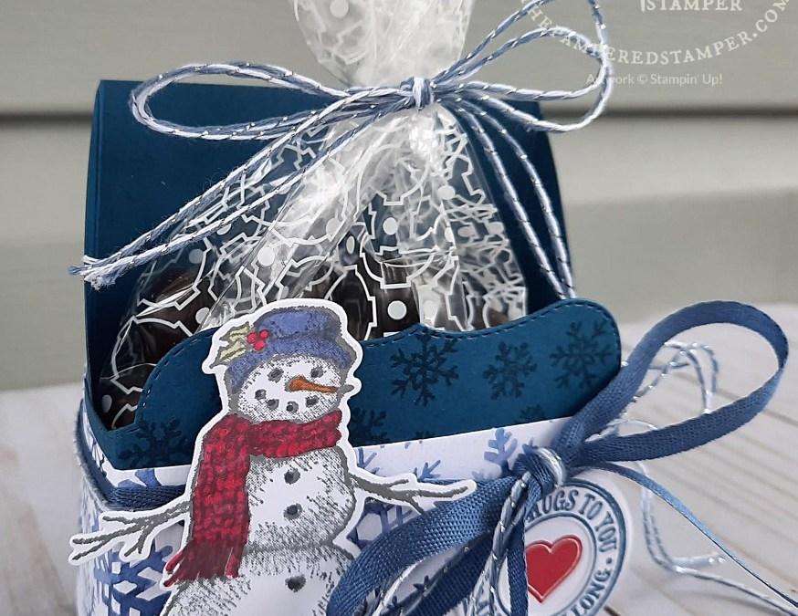 Snowman Treat Holders