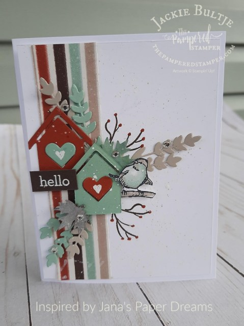 Coming Home Birdhouse card