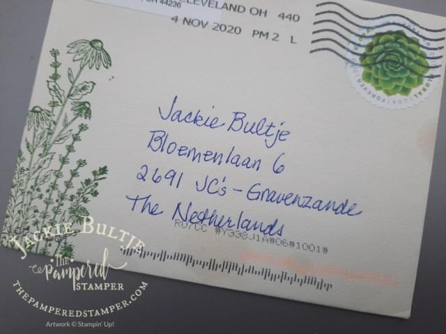 Happy Mail envelope