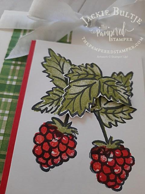 Wishing You The Berry Best closeup
