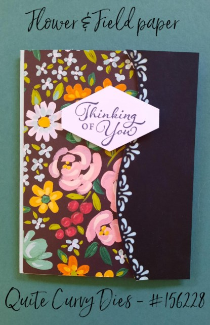 Flower and Field card 2