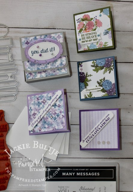Many Messages Mini box and cards