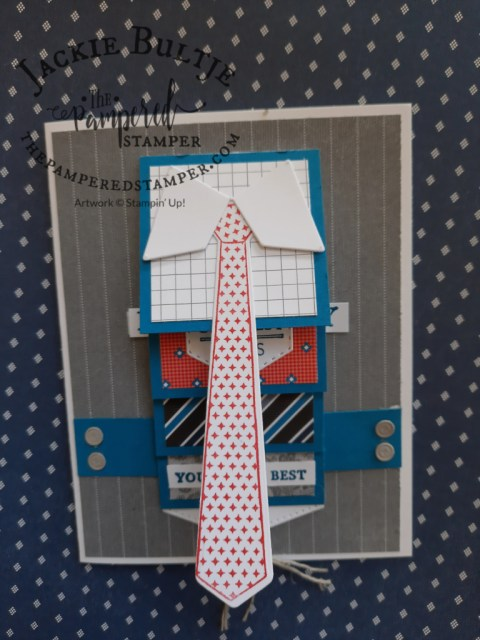 Handsomely Suited Waterfall Card