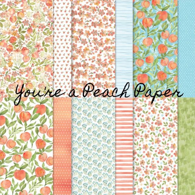 You're a Peach paper