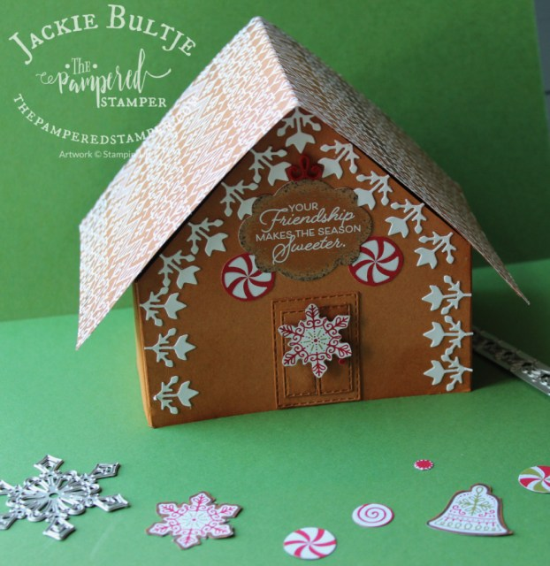 Gingerbread & Peppermint House