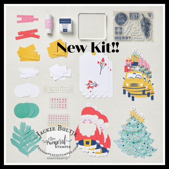 Love, Santa kit components