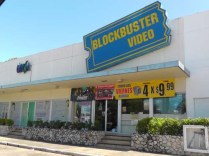 Blockbuster is next to it. Every Friday, rent 4 for $9.99
