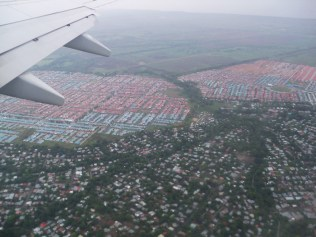 Panama City from the air