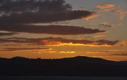 It was a beautiful sunset!