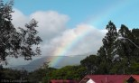 It has to be a good day when you see a rainbow like this?!