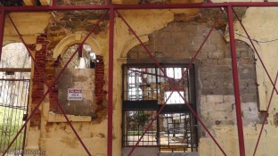There are also many buildings in the process of, or waiting for renovation.
