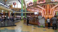 The merry go round from the ground floor