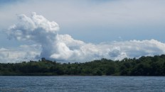 As we returned, some great clouds started to form.