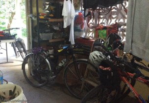 There are extra bikes at my house.