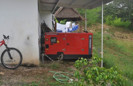 There is a large generator so a power failure shouldn't be a problem.