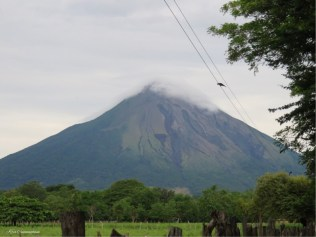 Today's photo of the volcano.