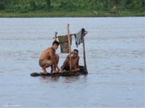 I'm not sure if this is a raft or what, but the boys were having fun